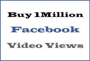 Buy 1M Facebook Views