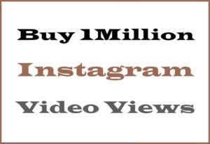 Buy 1M Instagram Views