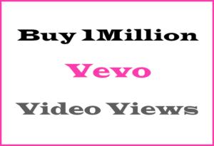 Buy 1 Million Vevo Views