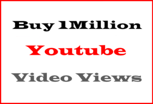 Buy 1M YouTube Views